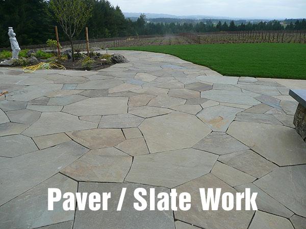 Paver / Slate work